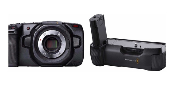 Venda Especial Pocket 4k + Grip Blackmagic