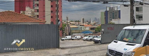 Terreno Para Alugar, 1266 M² Por R$ 18.000/mês - Vila Valparaíso - Santo André/sp - Te0058