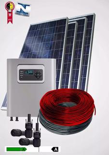 Kit Gerador On Grid Tie Placa Solar Painel Solar 200 Kwh/mês
