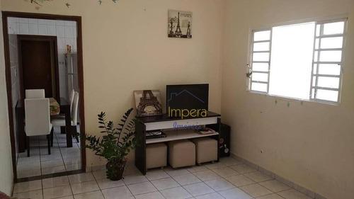Casa Com 2 Dormitórios À Venda, 55 M² Por R$ 239.000,00 - Jardim Das Cerejeiras - São José Dos Campos/sp - Ca0465