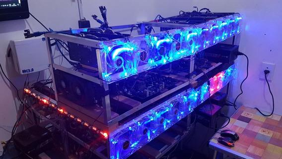Mega Mineradora Ethereum Com 36 Gpus Dá + De 57 Reais/dia