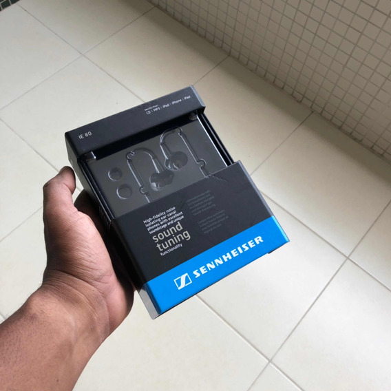 Fone Sennheiser Ie80 Original + Qr Code