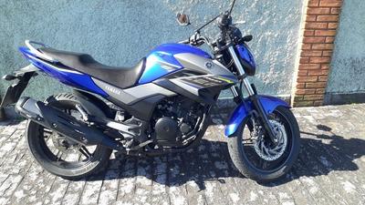 Yamaha Fazer 250 Blueflex - Troco Por Nmax Ou Pcx