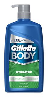 Gillette Hydrator Body Wash, 29.2 Fl Oz