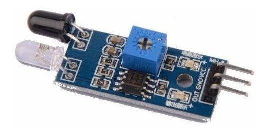 Sensor De Obstáculo Reflexivo Infravermelho Ir Para Arduino