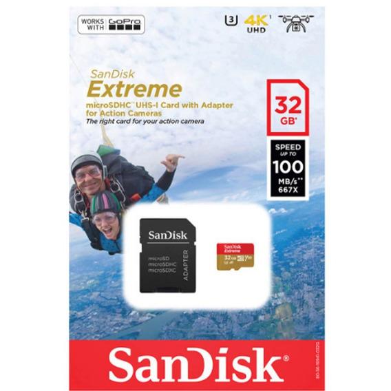 Proaventura Cartão Memória Sandisk Extreme Microsdhc 32gb