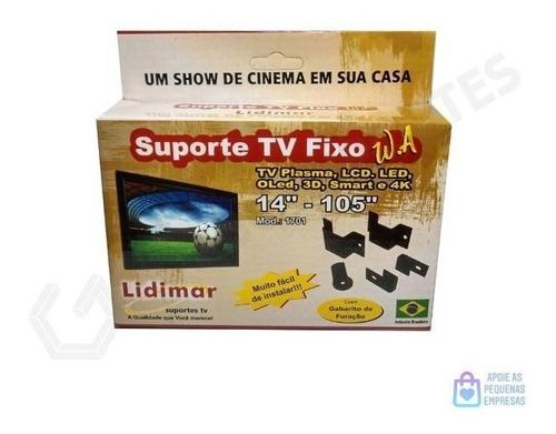 Suporte Para Tv Fixo W.a Universal 14 À 105  Lidimar