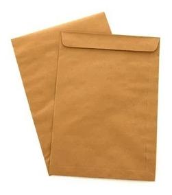 1000 Envelopes Saco Kraft Natural 162x229 Envelope 80g Skn23