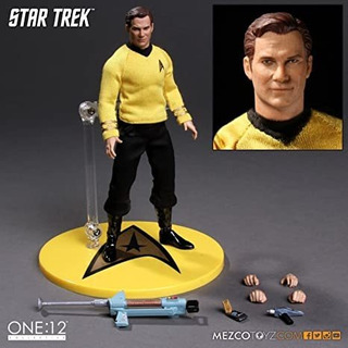 Star Trek Kirk Mezco One 12 Figura