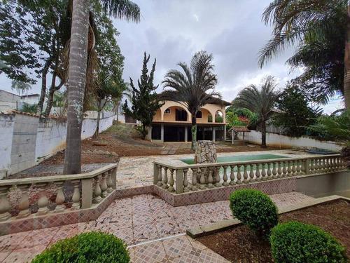 Casa Com 4 Dormitórios À Venda, 750 M² Por R$ 699.000,00 - Chácara Rincão - Cotia/sp - Ca1379