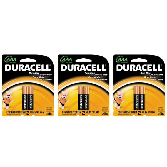 Duracell Palito Pilha Aaa C/2 (kit C/03)