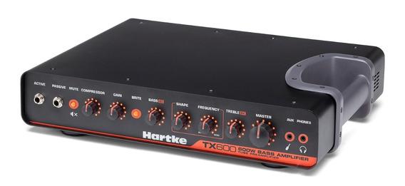 Hartke Tx600 Cabezal Bajo 600 Watts Pre Valvular Clase D