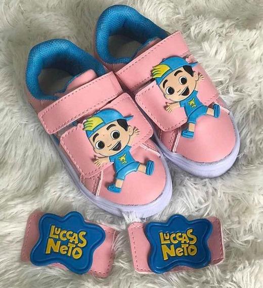 Tênis Luccas Neto - Infantil Kids Promoção