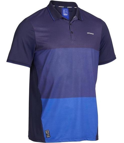Playera Polo De Tenis Para Hombro Dry Azul 8506393
