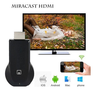 Hdmi Wifi Miracast - Celular Tablet iPhone iPad A Tv