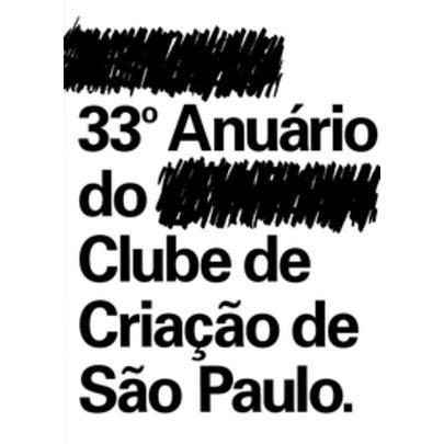 33º Anuário Do Clube De Criação De São Paulo