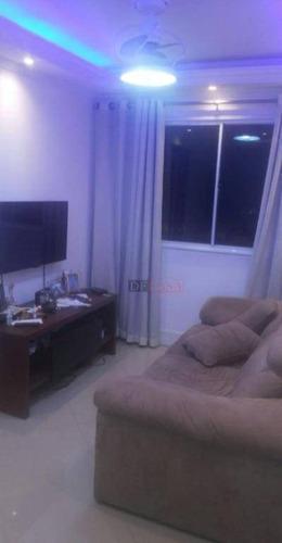 Imagem 1 de 20 de Apartamento Com 2 Dormitórios À Venda, 45 M² Por R$ 215.000 - Vila Talarico - São Paulo/sp - Ap5163