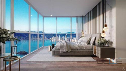 Apartamento Com 4 Dormitórios À Venda, 180 M² Por R$ 6.655.000,00 - Centro - Balneário Camboriú/sc - Ap0105
