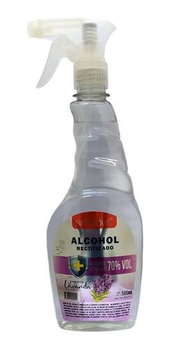 Alcohol Rectificado 70% Perfumado 1/2 Litro