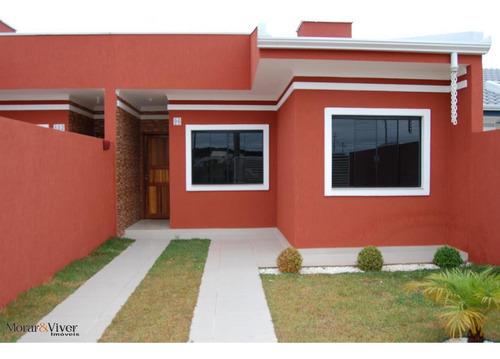 Casa Para Venda Em Fazenda Rio Grande, Eucaliptos, 3 Dormitórios, 1 Banheiro, 1 Vaga - Faz3340_1-1453518