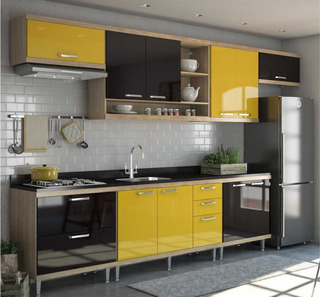 Cozinha Completa Multimóveis Com 7 Peças Sicília 5800