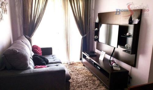 Imagem 1 de 14 de Apartamento Com 3 Dormitórios À Venda, 65 M² Por R$ 395.000,00 - Vila Carrão - São Paulo/sp - Ap0945