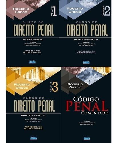 Coleção Rogério Greco - Direito Penal - 2019