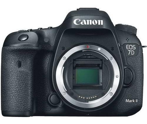 Câmera Canon Dslr Eos 7d Mark Ii - Corpo Da Câmera