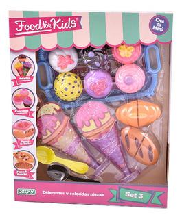 Food For Kids Set De Comida 3 Ditoys