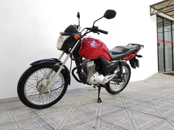 Honda Cg Start 150 2015 Vermelha Cod:.1011