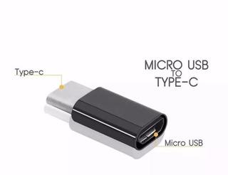 Adaptador Usb Tipo C Macho A Micro Usb Hembra Otg - Slot One