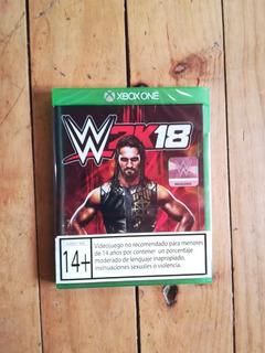 W2k18 Xbox One Formato Fisico, Nuevo . Envios Gratis .