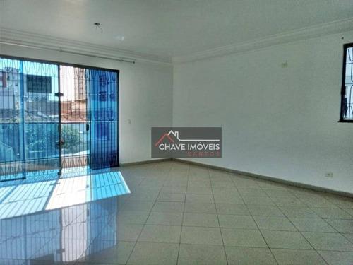 Imagem 1 de 25 de Casa À Venda, 160 M² Por R$ 800.000,00 - Embaré - Santos/sp - Ca0288