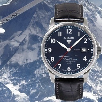 Relógio Automático Junkers 6864 Miyota 9015 Mountain Wave