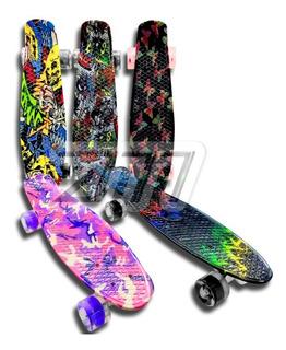 Patineta Tabla Skate-penny Tipo Grafiti Juguete Niño Y Niña