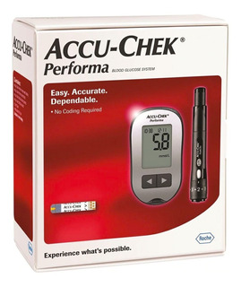 Medidor De Glucosa Accu-chek Performa Kit Completo