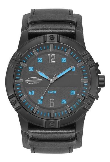 Relógio Masculino Mormaii Couro Preto Mo2036ir/2a