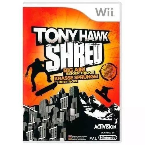 Jogo Tony Hawk Shred Wii