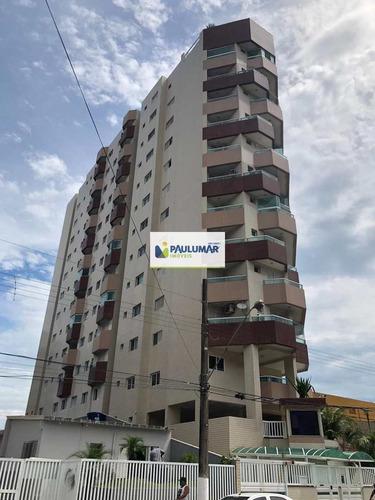 Apartamento Com 3 Dorms, Centro, Mongaguá - R$ 650 Mil, Cod: 828494 - V828494