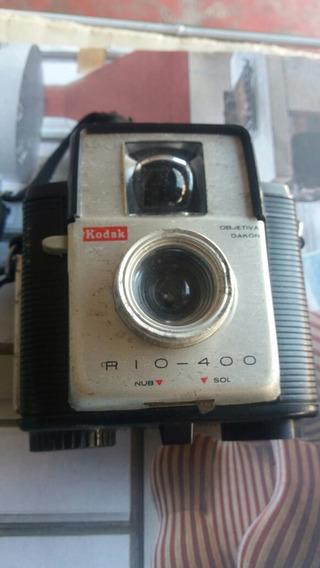 Câmera Fotográfica Antiga Kodak Rio 400 Objetiva Dacon Rara