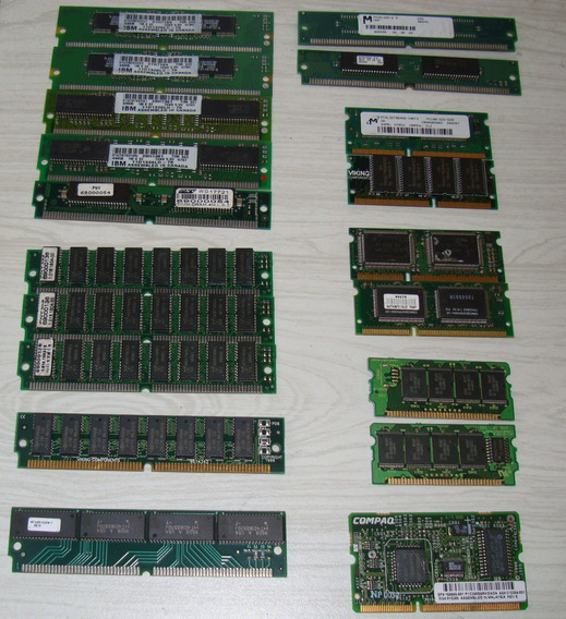 Memoria Simm Edo Dimm Dram Eeprom Router Servidor Desktop