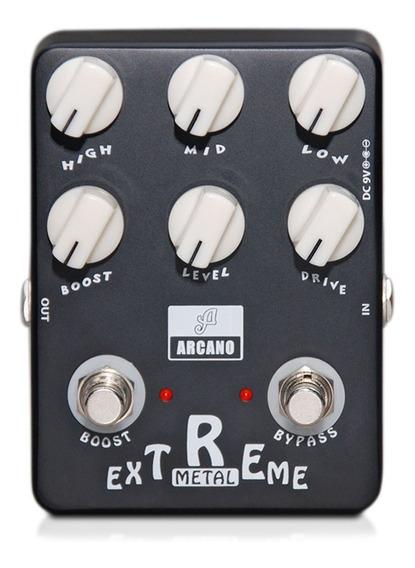 Pedal Emulador De Amp Arcano Arc-zmetall Baseado Em Fender