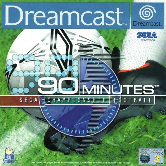 90 Minutes Sega Champship Football Patch - Dreamcast E Pc