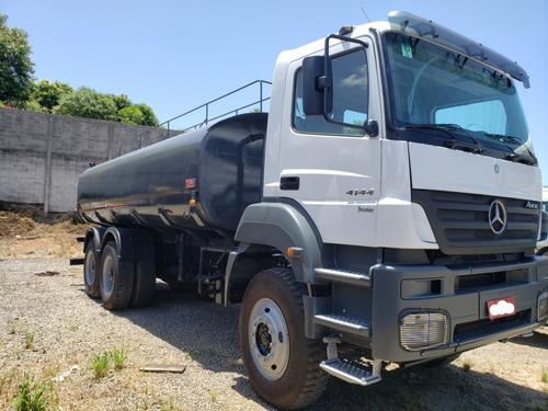 Mb Axor 4144 K 6x4 Ano 2010/2011 Tanque 20 Mil Litros Pipa