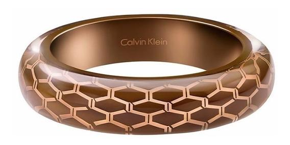Brazalete Calvin Klein Abstract Kj2scd56010s Café Ghiberti