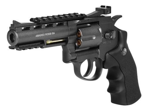 Imagem 1 de 4 de Revólver De Pressão Co2 Win Gun 701 Full Metal 4.5mm