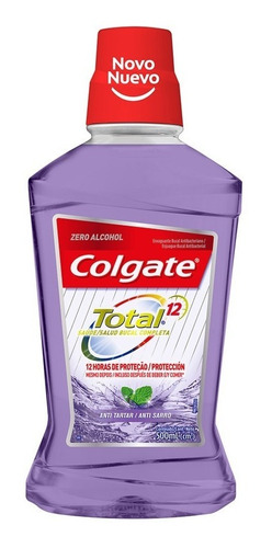 Enjuague Bucal Colgate Total 12 Tartar Defense 500ml