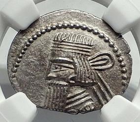 Moeda De Prata Grécia Antiga Reino Pártico - Rei Artabanus V
