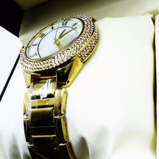 Reloj Dama Piedras Dorado Vitag Original 100% Garantizado