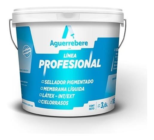 Pintura Sellador Pigmentado Profesional 3,6 L Aguerrebere